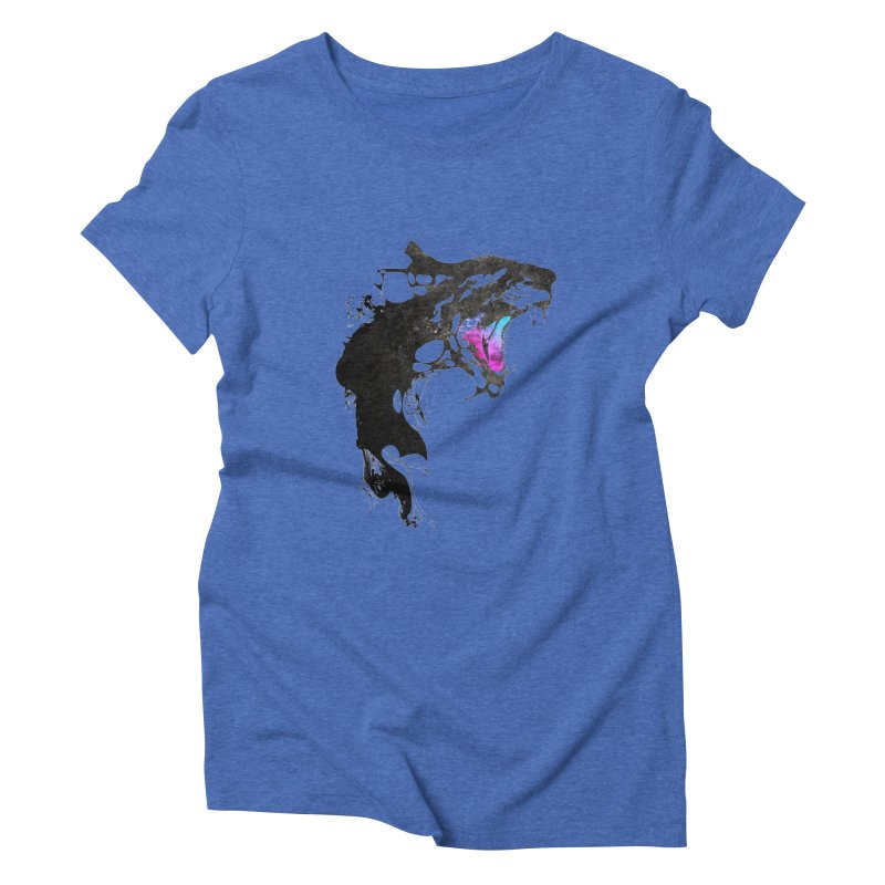 Monster Women's Triblend T-Shirt by KUI1981