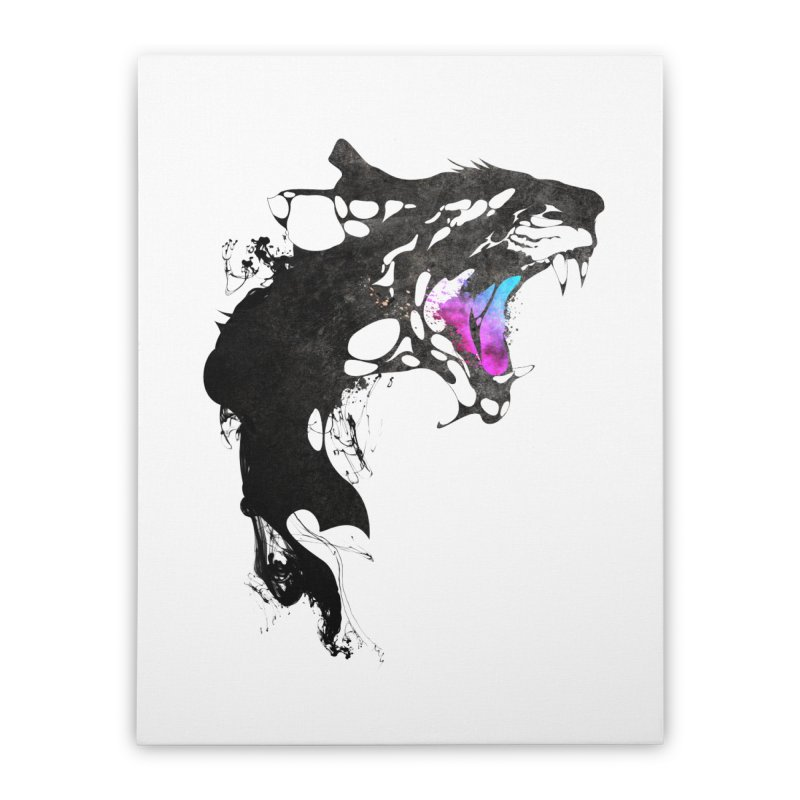 Monster Home Stretched Canvas by KUI1981