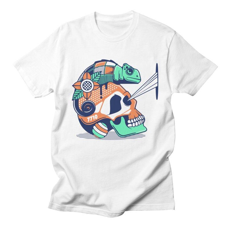 SKULL CHAMELEON Women's Regular Unisex T-Shirt by kukulcanvas's Artist Shop