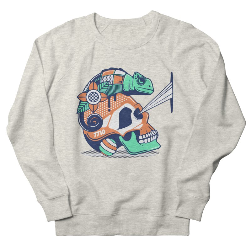 SKULL CHAMELEON Men's Sweatshirt by kukulcanvas's Artist Shop