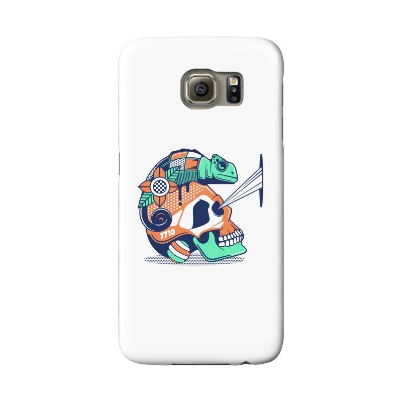 SKULL CHAMELEON Accessories Phone Case by kukulcanvas's Artist Shop