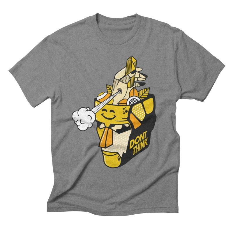 DONT THINK Men's T-Shirt by kukulcanvas's Artist Shop