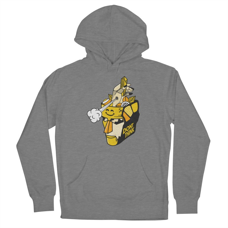 DONT THINK Women's Pullover Hoody by kukulcanvas's Artist Shop
