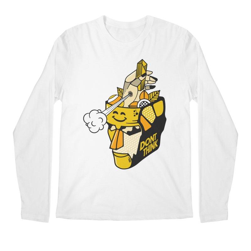 DONT THINK Men's Longsleeve T-Shirt by kukulcanvas's Artist Shop