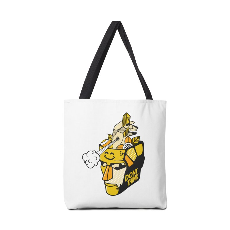 DONT THINK Accessories Bag by kukulcanvas's Artist Shop