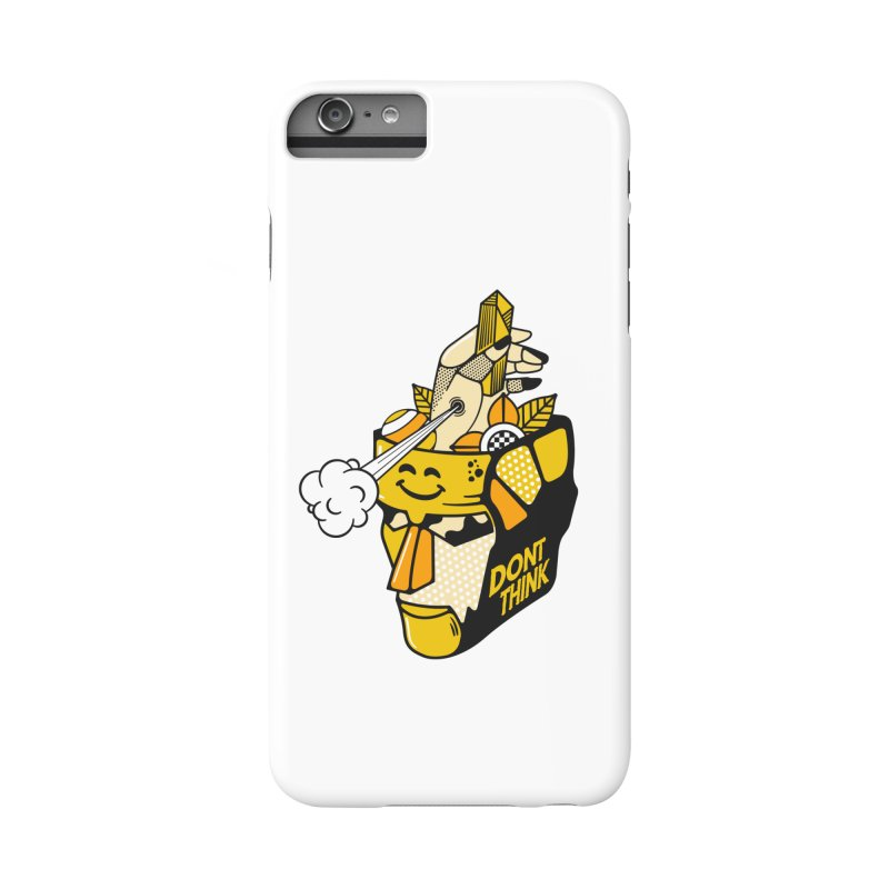 DONT THINK Accessories Phone Case by kukulcanvas's Artist Shop