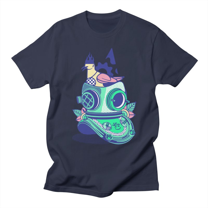 ESCAFANDRA Men's T-Shirt by kukulcanvas's Artist Shop