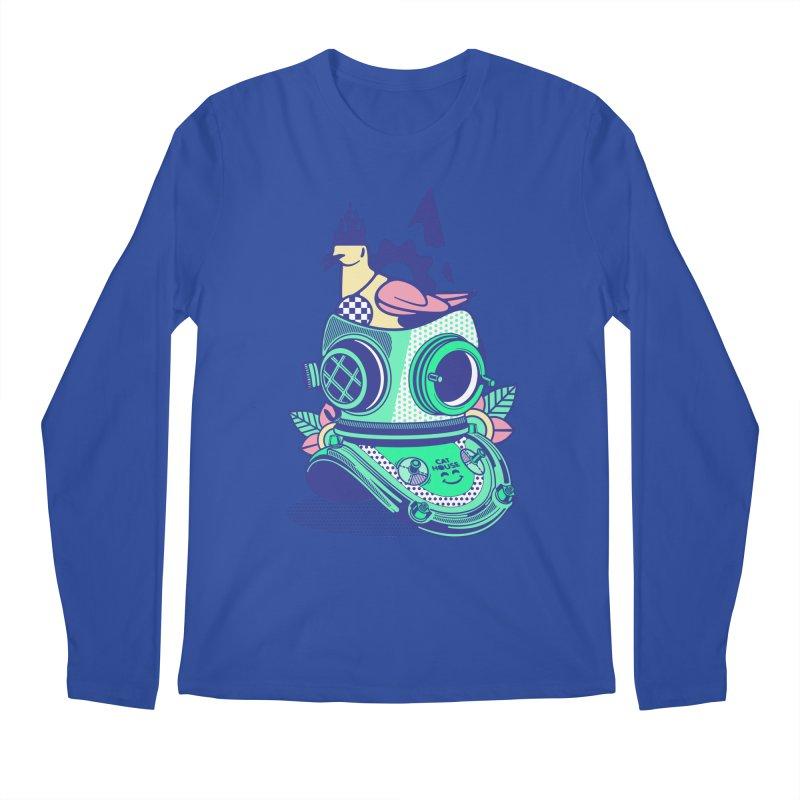 ESCAFANDRA Men's Longsleeve T-Shirt by kukulcanvas's Artist Shop