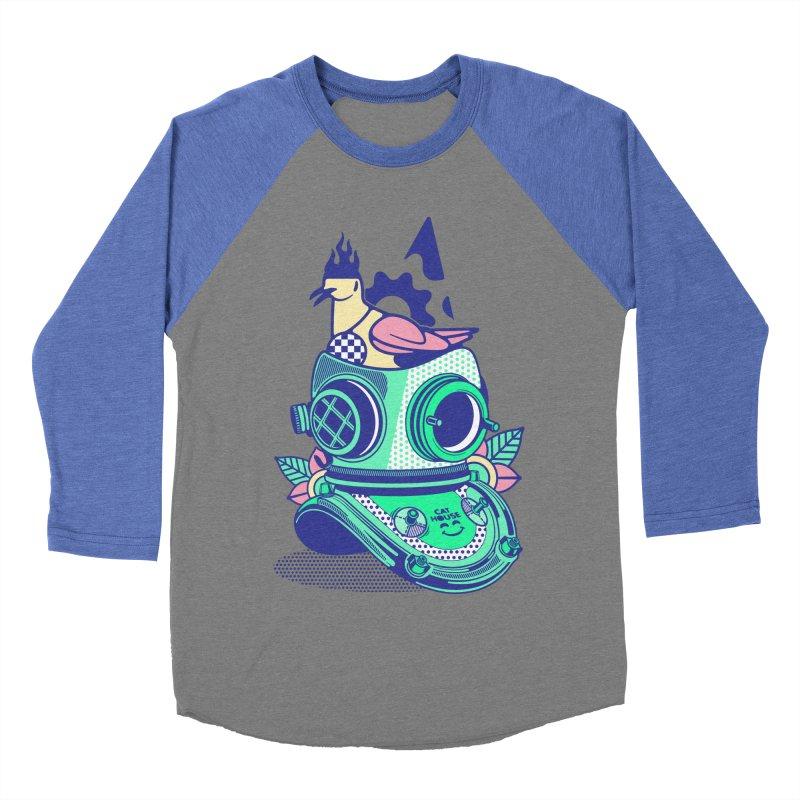 ESCAFANDRA Women's Baseball Triblend Longsleeve T-Shirt by kukulcanvas's Artist Shop