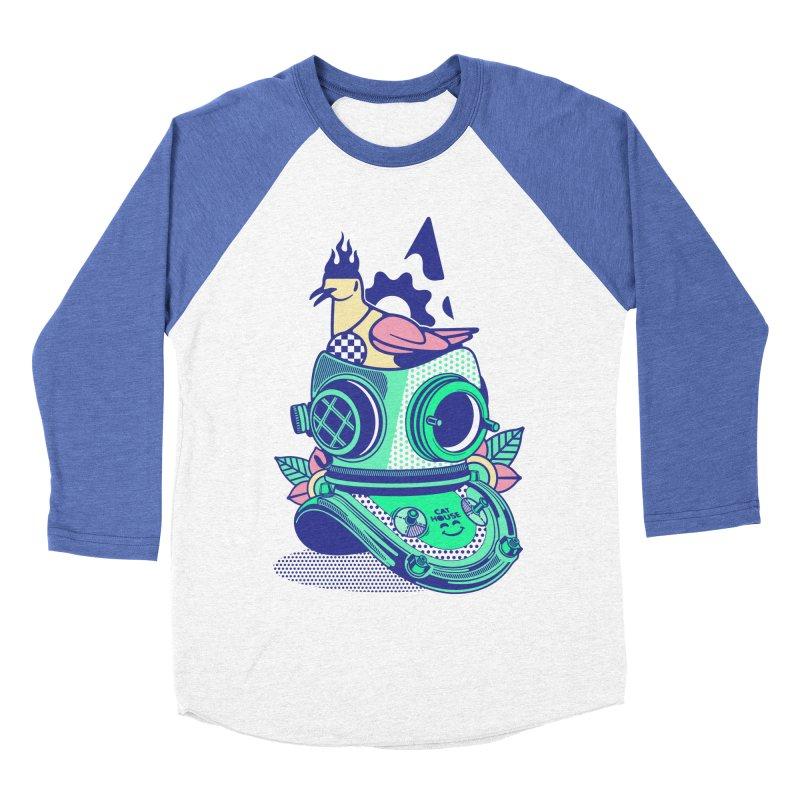 ESCAFANDRA Men's Baseball Triblend Longsleeve T-Shirt by kukulcanvas's Artist Shop