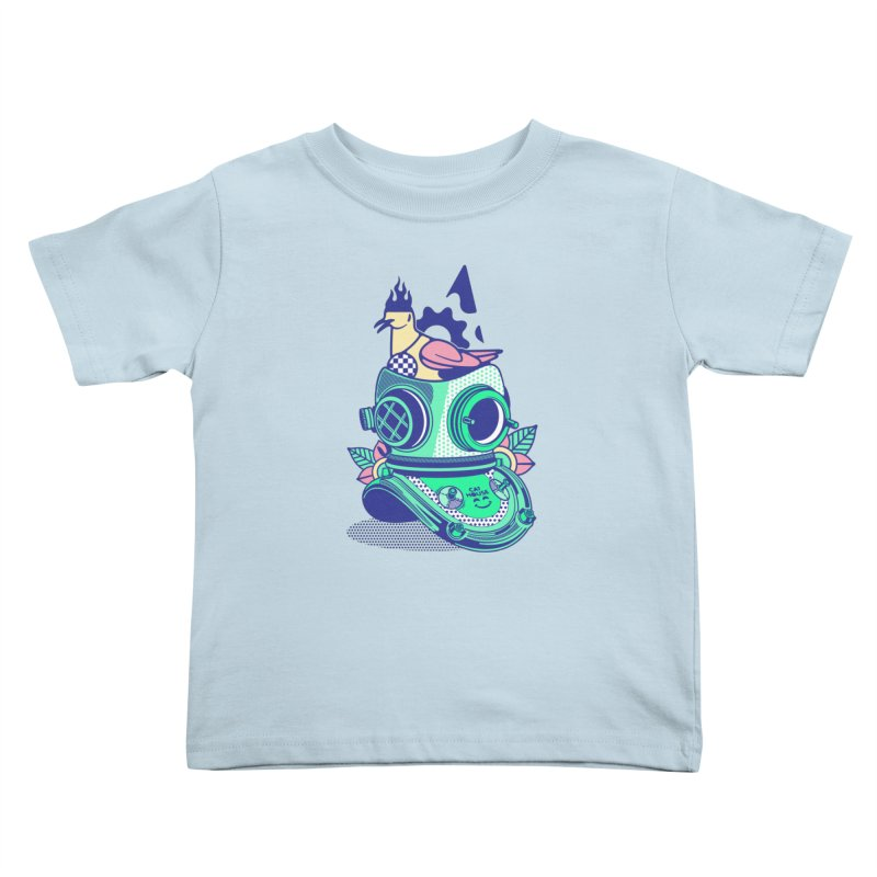 ESCAFANDRA Kids Toddler T-Shirt by kukulcanvas's Artist Shop