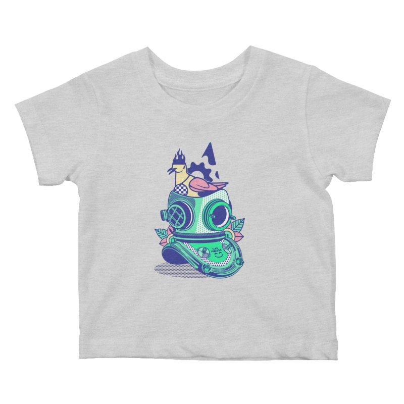 ESCAFANDRA Kids Baby T-Shirt by kukulcanvas's Artist Shop