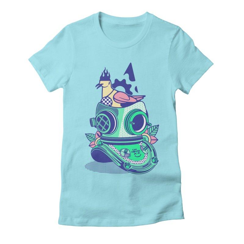 ESCAFANDRA Women's T-Shirt by kukulcanvas's Artist Shop