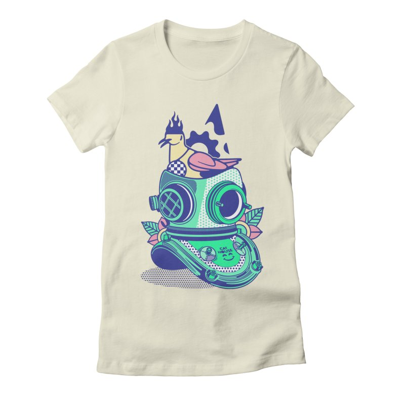 ESCAFANDRA Women's T-Shirt by kukulcanvas's Artist Shop