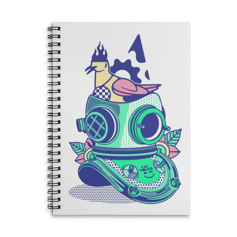 ESCAFANDRA Accessories Notebook by kukulcanvas's Artist Shop