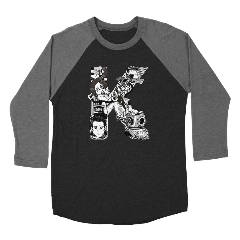 K Women's Longsleeve T-Shirt by kukulcanvas's Artist Shop