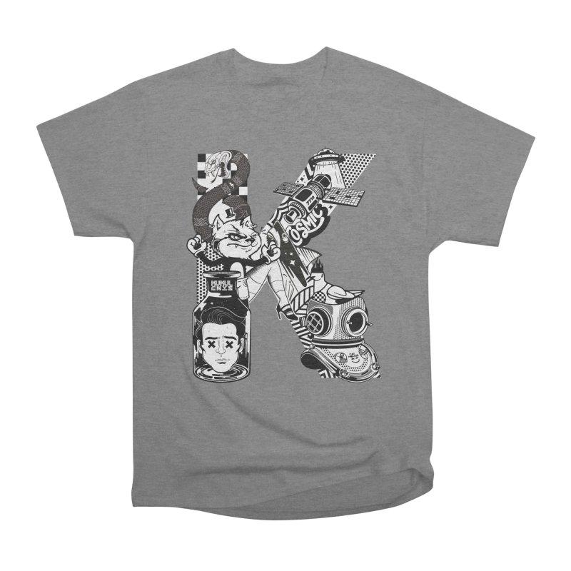 K Men's T-Shirt by kukulcanvas's Artist Shop