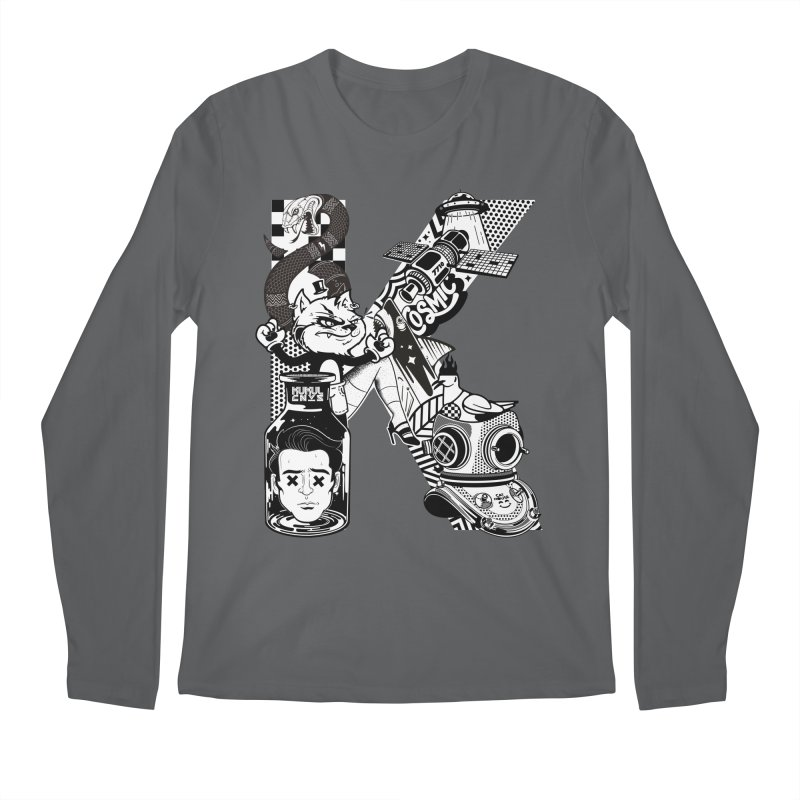 K Men's Longsleeve T-Shirt by kukulcanvas's Artist Shop