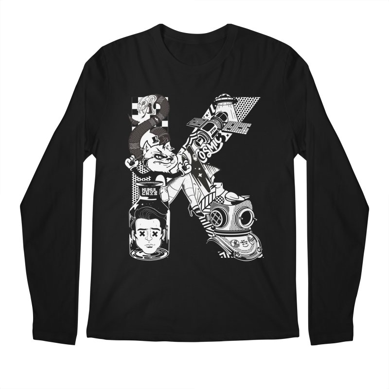 K Men's Longsleeve T-Shirt by kukulcanvas's Artist Shop