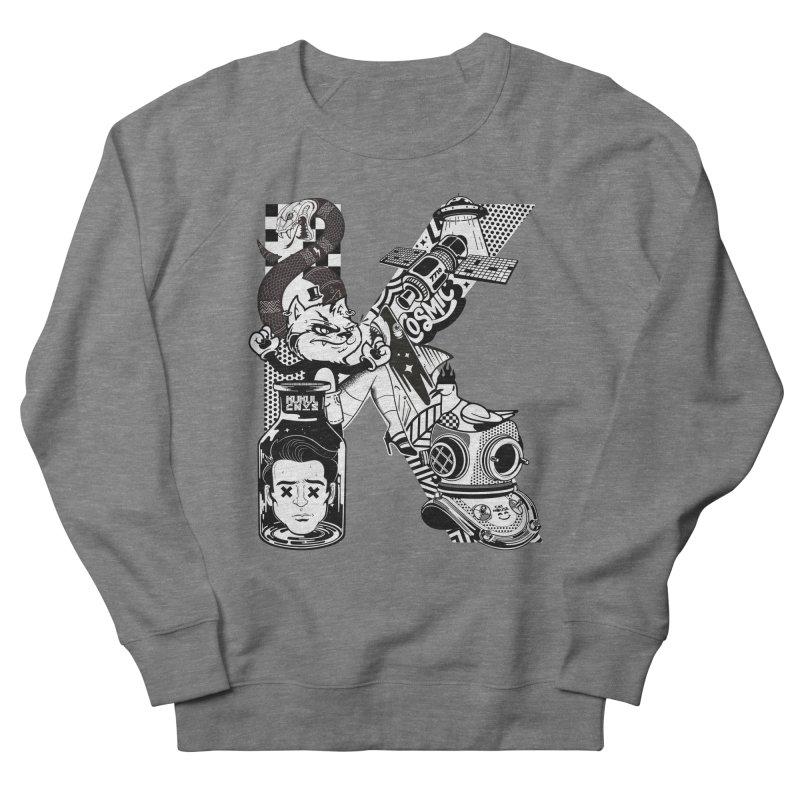 K Men's Sweatshirt by kukulcanvas's Artist Shop