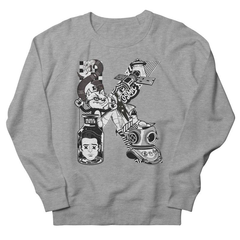 K Men's French Terry Sweatshirt by kukulcanvas's Artist Shop