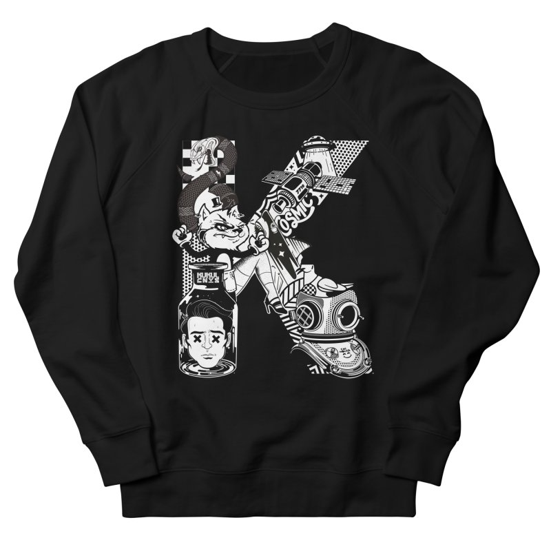 K Men's Sweatshirt by kukulcanvas's Artist Shop