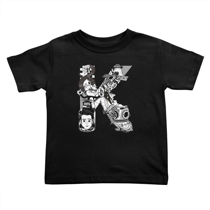 K Kids Toddler T-Shirt by kukulcanvas's Artist Shop