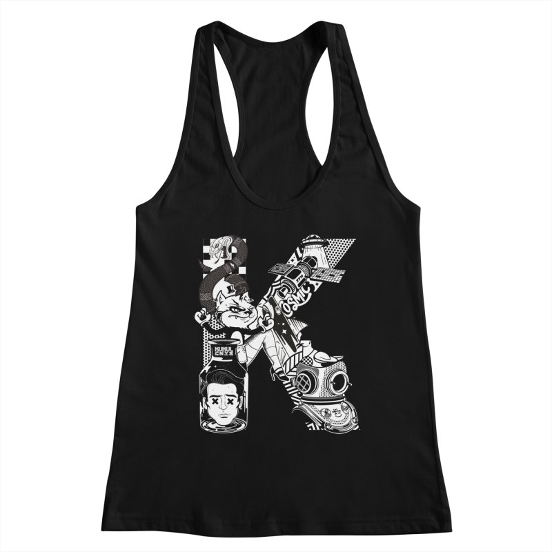 K Women's Tank by kukulcanvas's Artist Shop