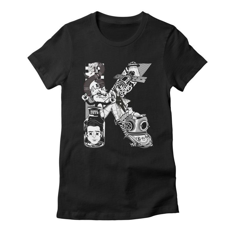 K Women's T-Shirt by kukulcanvas's Artist Shop