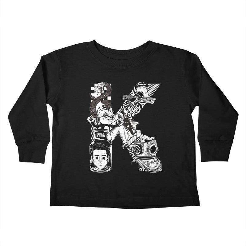 K Kids Toddler Longsleeve T-Shirt by kukulcanvas's Artist Shop