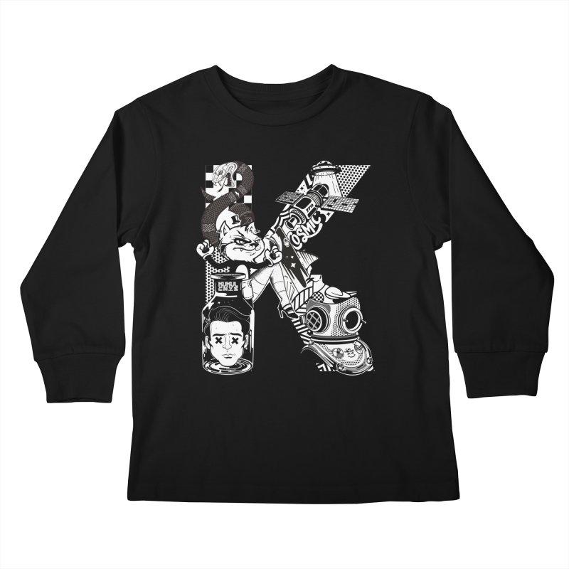 K Kids Longsleeve T-Shirt by kukulcanvas's Artist Shop