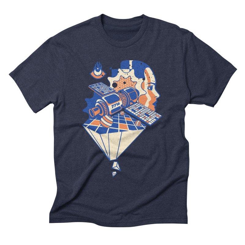 ORBITAL Men's T-Shirt by kukulcanvas's Artist Shop