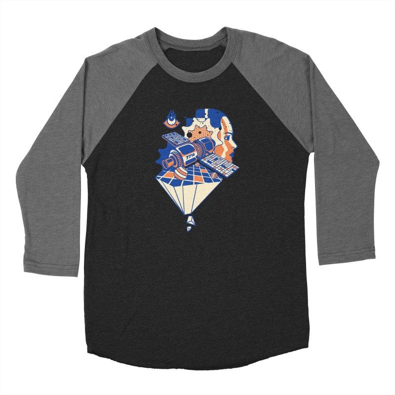 ORBITAL Women's Longsleeve T-Shirt by kukulcanvas's Artist Shop