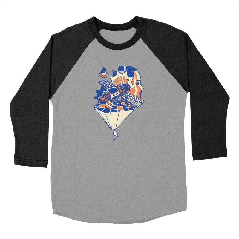 ORBITAL Men's Longsleeve T-Shirt by kukulcanvas's Artist Shop