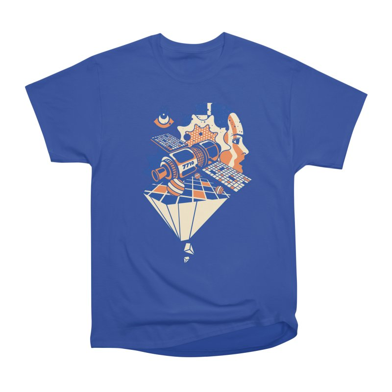 ORBITAL Men's T-Shirt by kukulcanvas's Artist Shop
