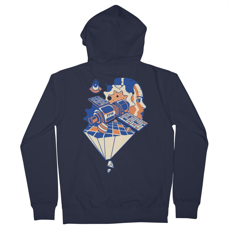ORBITAL Women's Zip-Up Hoody by kukulcanvas's Artist Shop