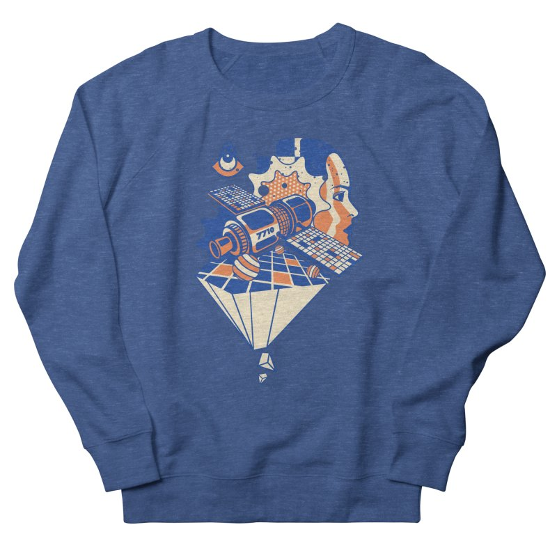 ORBITAL Men's Sweatshirt by kukulcanvas's Artist Shop