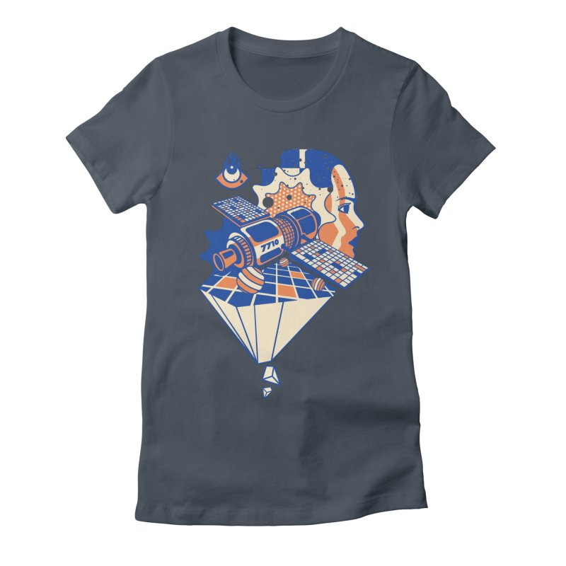 ORBITAL Women's T-Shirt by kukulcanvas's Artist Shop