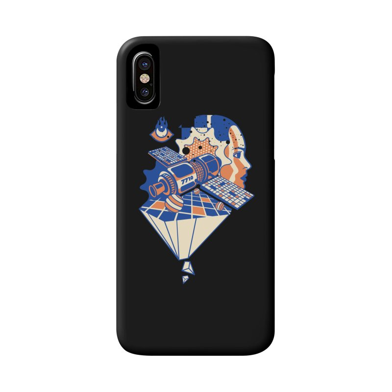 ORBITAL Accessories Phone Case by kukulcanvas's Artist Shop