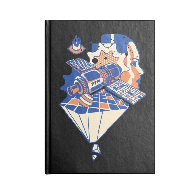 ORBITAL Accessories Notebook by kukulcanvas's Artist Shop