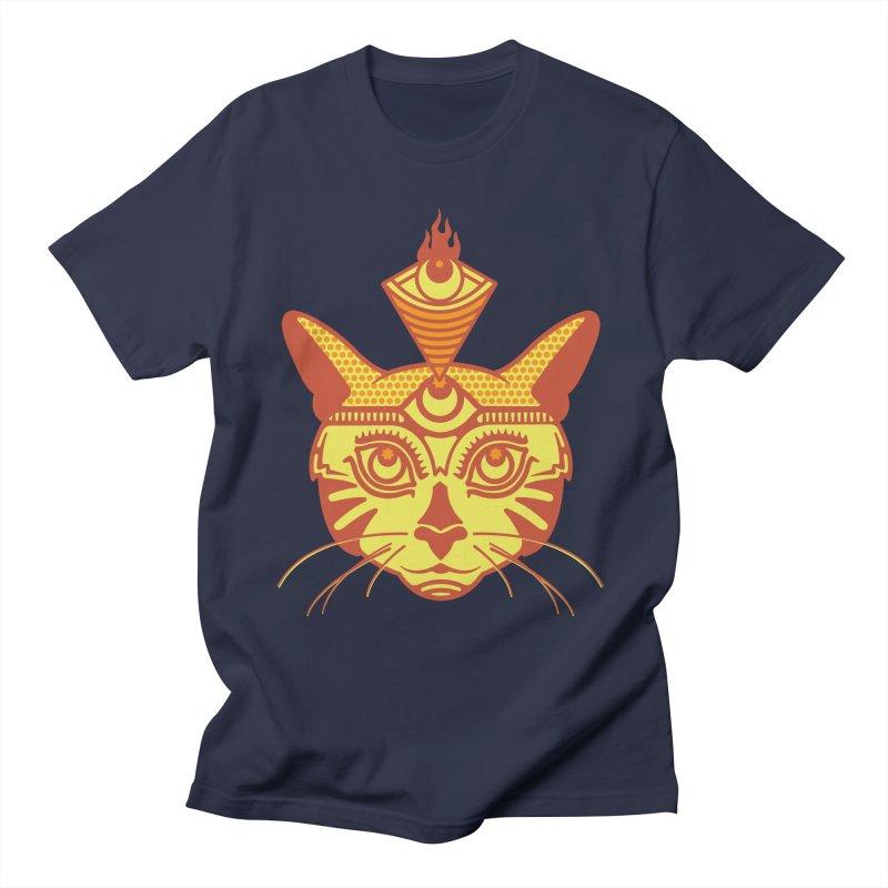 LIGHTCAT Men's T-Shirt by kukulcanvas's Artist Shop