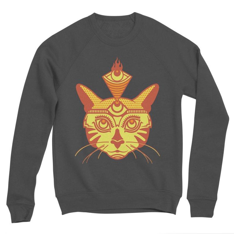 LIGHTCAT Men's Sponge Fleece Sweatshirt by kukulcanvas's Artist Shop
