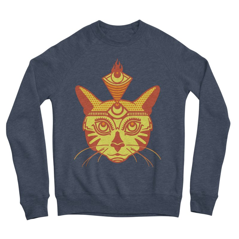 LIGHTCAT Women's Sponge Fleece Sweatshirt by kukulcanvas's Artist Shop