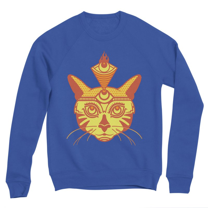 LIGHTCAT Men's Sponge Fleece Sweatshirt by kukulcanvas's Artist Shop