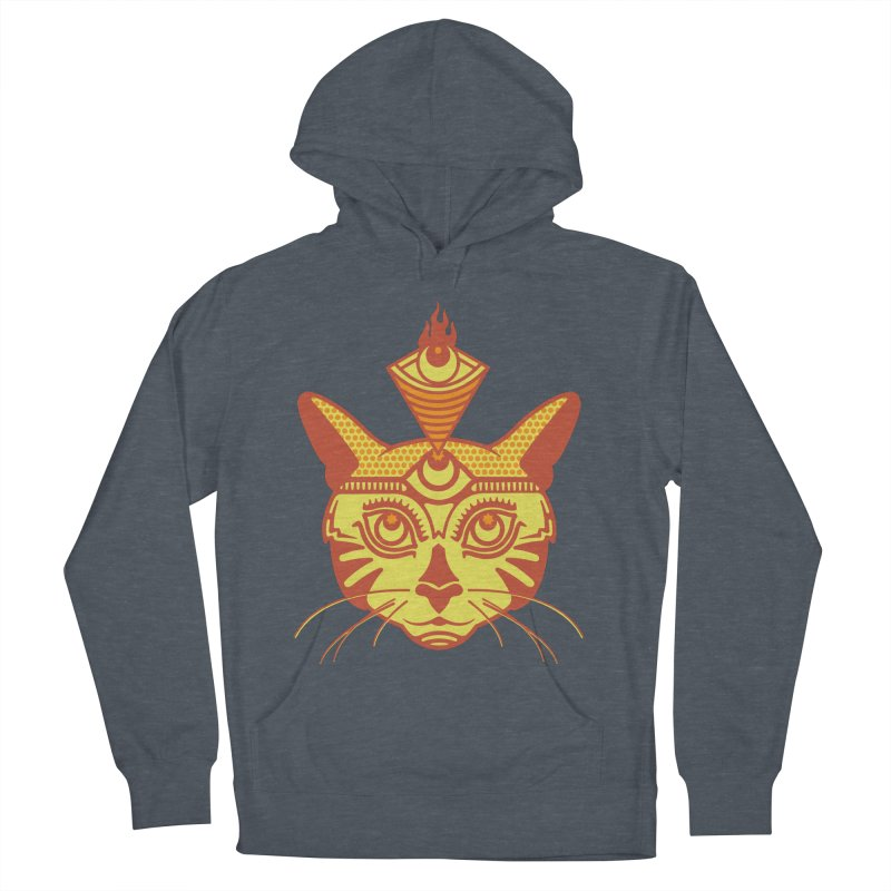 LIGHTCAT Men's French Terry Pullover Hoody by kukulcanvas's Artist Shop