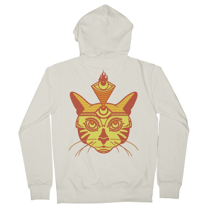 LIGHTCAT Women's French Terry Zip-Up Hoody by kukulcanvas's Artist Shop