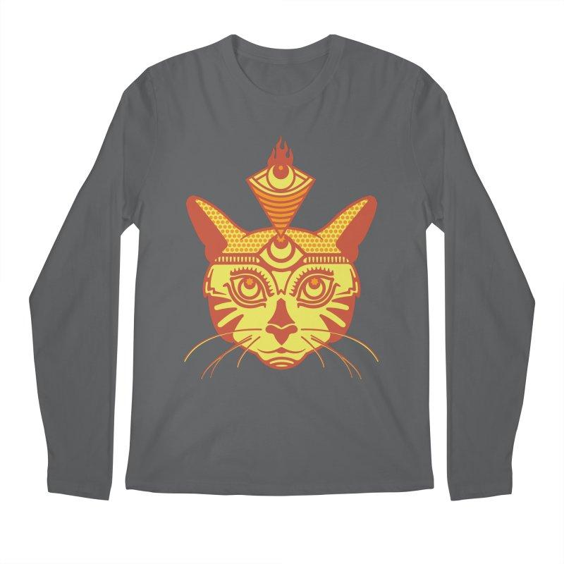 LIGHTCAT Men's Longsleeve T-Shirt by kukulcanvas's Artist Shop