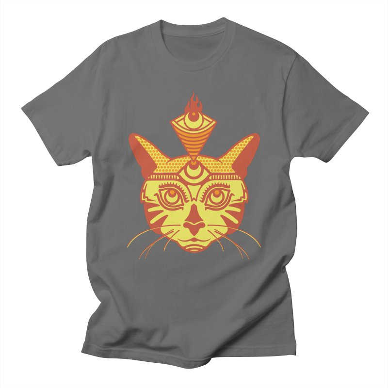 LIGHTCAT Men's T-Shirt by kukulcanvas's Artist Shop
