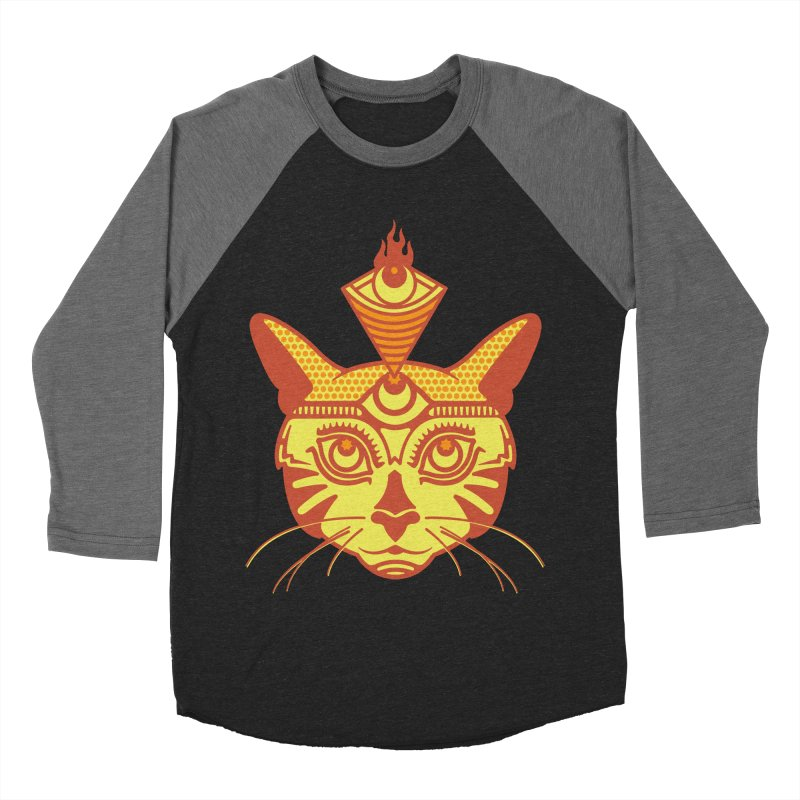 LIGHTCAT Women's Baseball Triblend Longsleeve T-Shirt by kukulcanvas's Artist Shop
