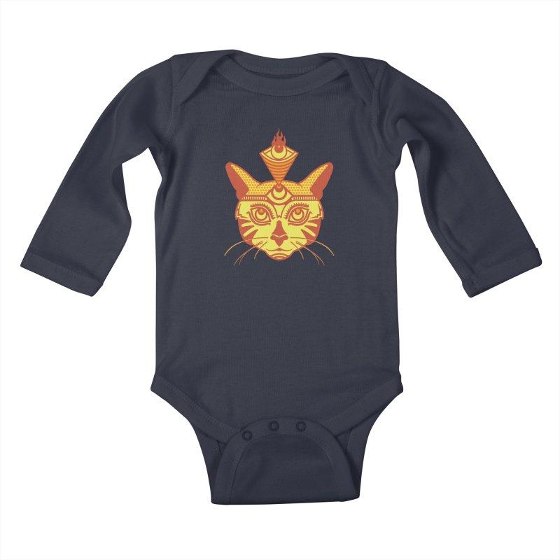 LIGHTCAT Kids Baby Longsleeve Bodysuit by kukulcanvas's Artist Shop